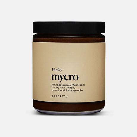 """Vitality"" Adaptogenic Mushroom Honey // 8 oz"