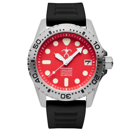 Hawaiian Lifeguard Association Dive Watch Quartz // HLA 5417