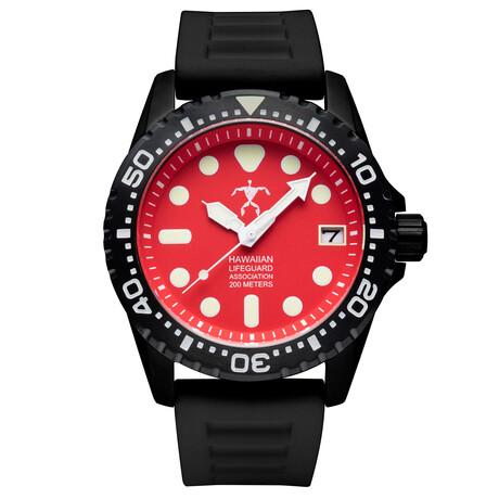 Hawaiian Lifeguard Association Dive Watch Quartz // HLA 5418