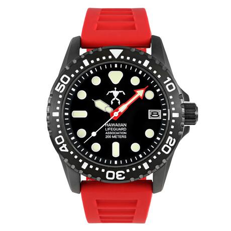 Hawaiian Lifeguard Association Dive Watch Quartz // HLA 5412