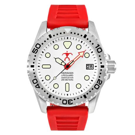 Hawaiian Lifeguard Association Dive Watch Quartz // HLA 5411