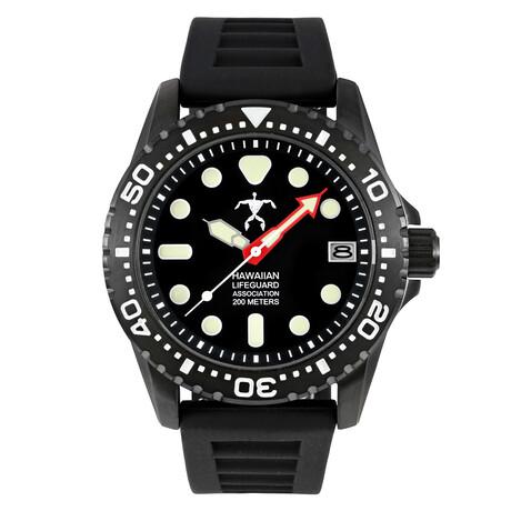 Hawaiian Lifeguard Association Dive Watch Quartz // HLA 5402