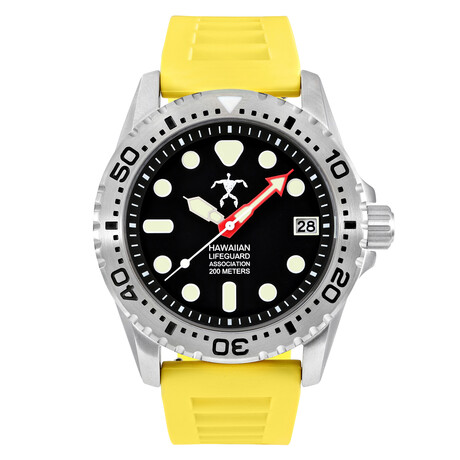 Hawaiian Lifeguard Association Dive Watch Quartz // HLA 5403