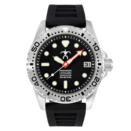 Hawaiian Lifeguard Association Dive Watch Quartz // HLA 5401