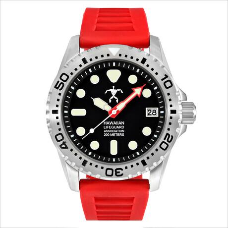 Hawaiian Lifeguard Association Dive Watch Quartz // HLA 5410
