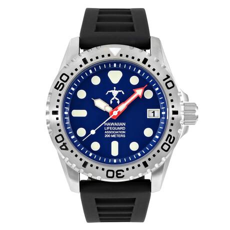 Hawaiian Lifeguard Association Dive Watch Quartz // HLA 5405