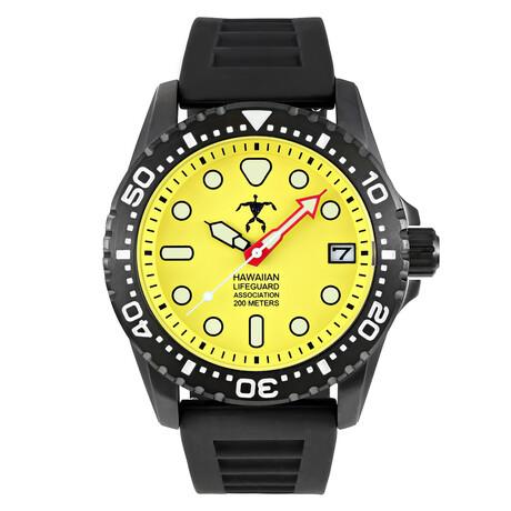 Hawaiian Lifeguard Association Dive Watch Quartz // HLA 5407