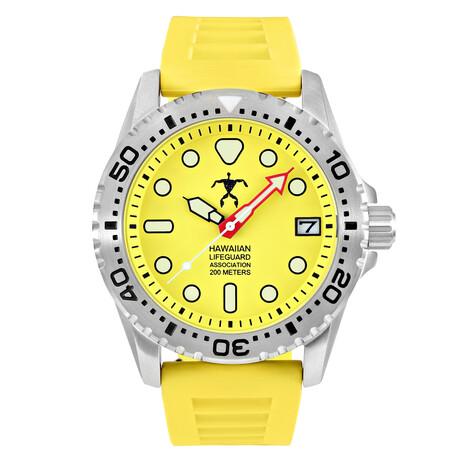 Hawaiian Lifeguard Association Dive Watch Quartz // HLA 5408