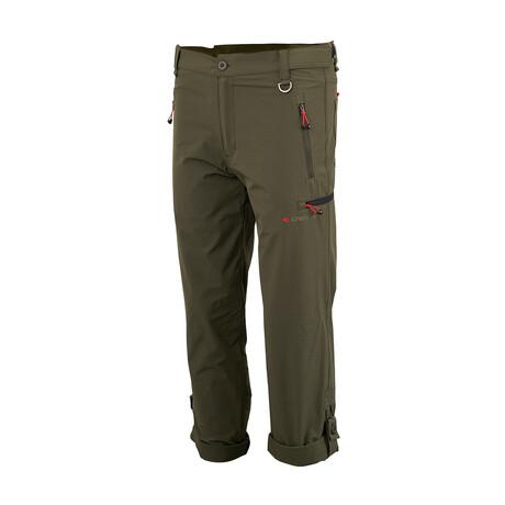 Bon Tempe Trekking Pants // Olive Green (Small)