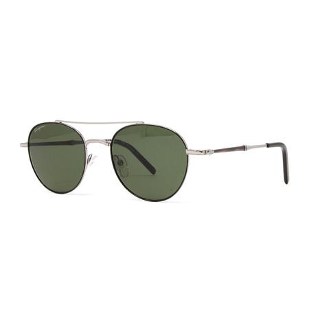Men's SF224S Sunglasses // Shiny Gunmetal + Black
