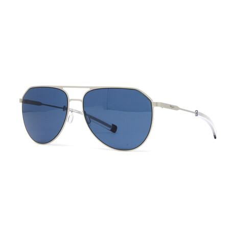 Men's SF219S Sunglasses // Matte Silver