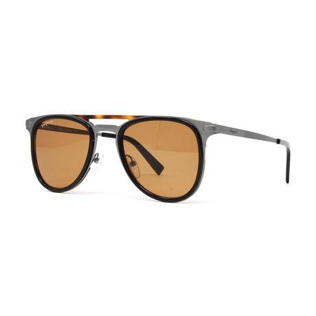 Men's SF218S Sunglasses // Black + Tortoise