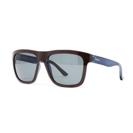 Men's SF769S Sunglasses // Brown + Denim