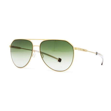 Men's SF219S Sunglasses // Matte Gold