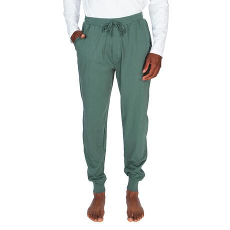 Light Weight Lounge Pant // Dark Green (S)