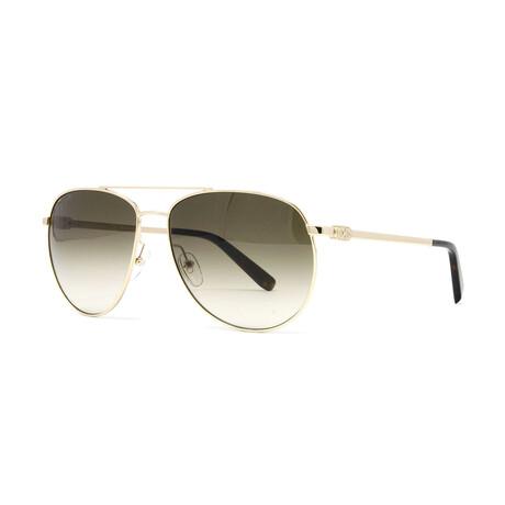 Men's SF157S Aviator Sunglasses // Gold