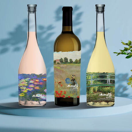 Monet's Complete Collection // Set of 3 // 750 ml Each