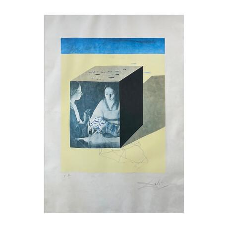 Salvador Dali // Caring for a Surrealistic Watch (Attention pour une contemplation Surréaliste) // 1971