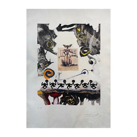 Salvador Dali // Surrealistic Gastronomy (Gastronomie Surréaliste)  // 1971