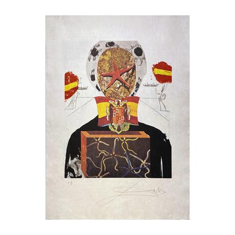 Salvador Dali // Surrealistic King (Le Roi Surréaliste)  // 1971