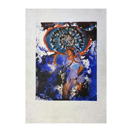Salvador Dali // Ultra-Surrealistic Corpuscular Galustska (Galustska corpusculaire ultra Surréalsite)  // 1971