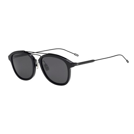 Men's BLACKTIE227S Sunglasses // Matte Black + Gray