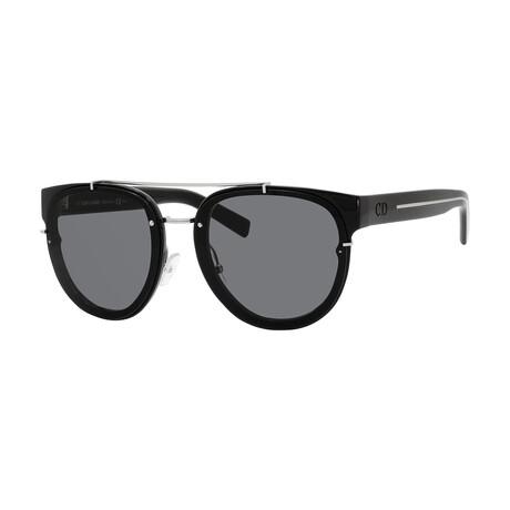 Men's BLACKTIE143S Sunglasses // Crystal Black + Gray