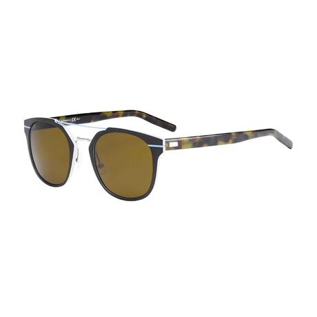 Men's AL13-5 Sunglasses // Matte Havana + Brown