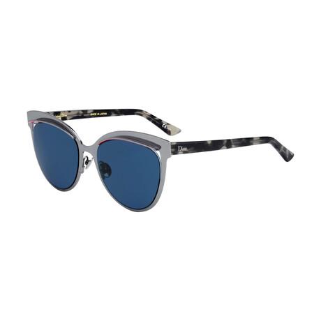 Women's DIORINSPIRED Sunglasses // Gray + Gray Tortoise + Blue