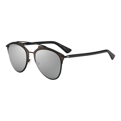 Women's DIORREFLECTED Sunglasses // Brown + Silver