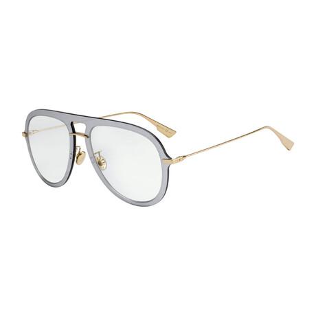 Women's DIORULTIME1 Sunglasses // Silver + Gray