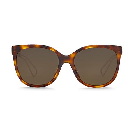 Women's DIORAMA3 Sunglasses // Havana Pink + Brown