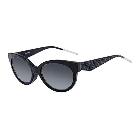 Women's VERYDIOR1NF Sunglasses // Black + Gray Gradient