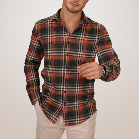 Lumberjack Shirt // Tile (Small)
