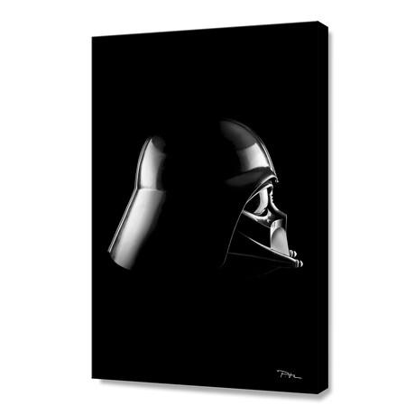 """Dark Side // Vader (12""""H x 8""""W x 0.75""""D)"""