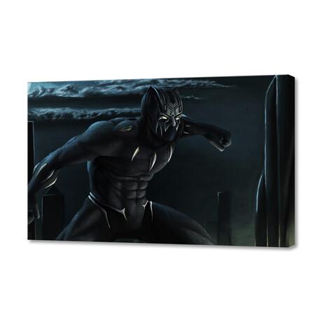 """Black Panther (8""""H x 12""""W x 0.75""""D)"""