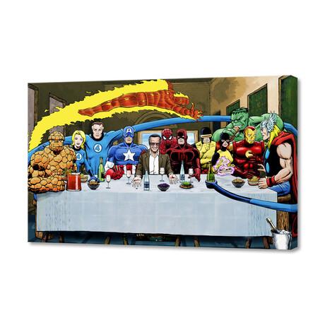 "Marvel // Stan Lee's Super Supper (8""H x 12""W x 0.75""D)"