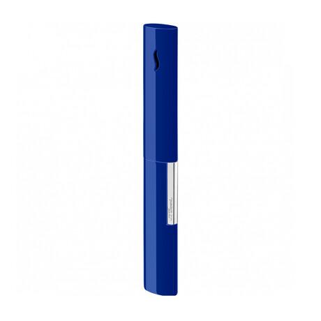 Li The Wand // Brushed Blue + Chrome