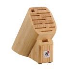 12-Slot Knife Block // Bamboo