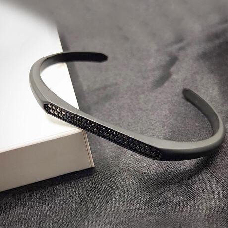 Cuffed Bracelet // Gray