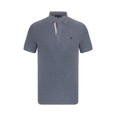 Cole Short Sleeve Polo Shirt // Navy (XS)