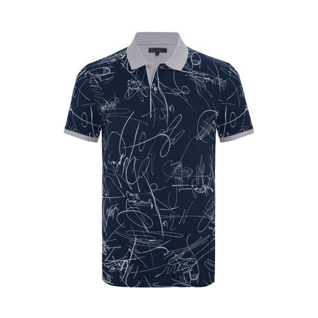 Jack Short Sleeve Polo Shirt // Navy (XS)
