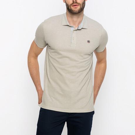 Presidio Short Sleeve Polo Shirt // Beige (XS)