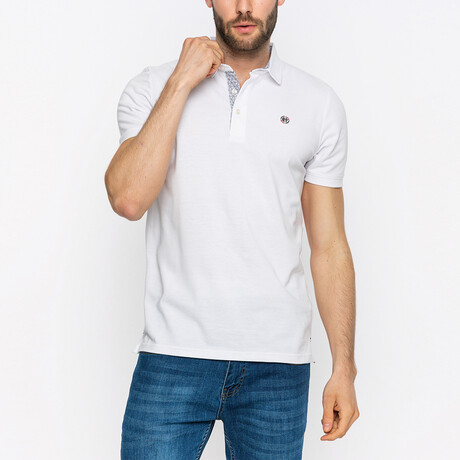 Paul Short Sleeve Polo Shirt // White (XS)