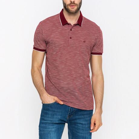Jordan Short Sleeve Polo Shirt // Bordeaux (XS)