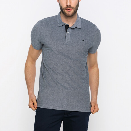 Zack Short Sleeve Polo Shirt // Black (XS)