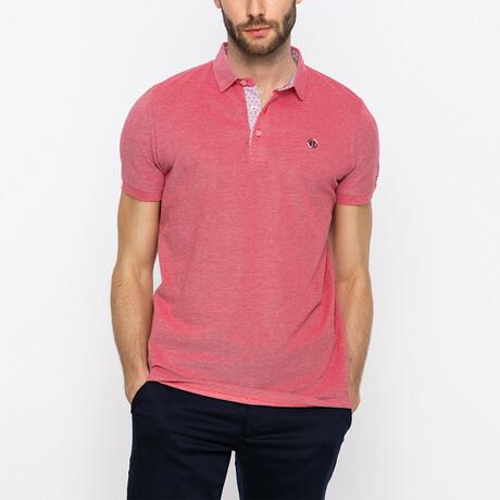 Harry Short Sleeve Polo Shirt // Bordeaux (XS)