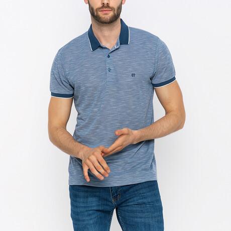 Jaxson Short Sleeve Polo Shirt // Indigo (XS)