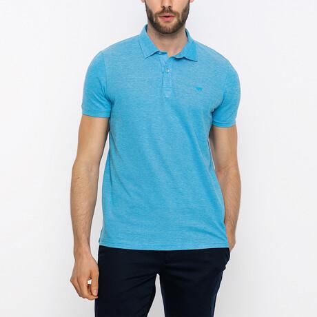 Quinn Short Sleeve Polo Shirt // Turquoise (XS)