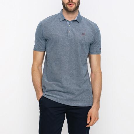 Clement Short Sleeve Polo Shirt // Navy (XS)